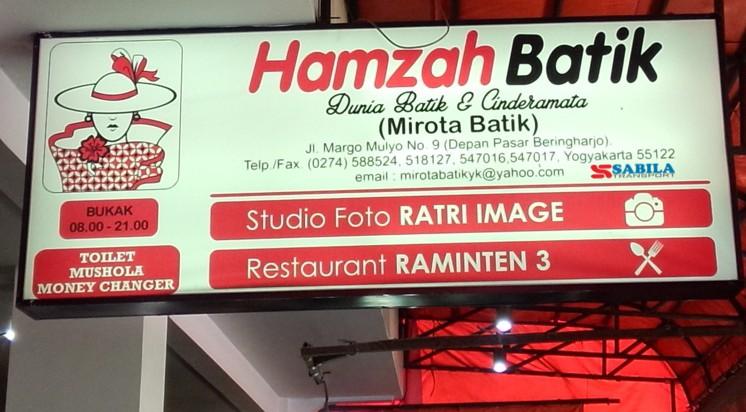 Mirota Batik (Hamzah Batik)