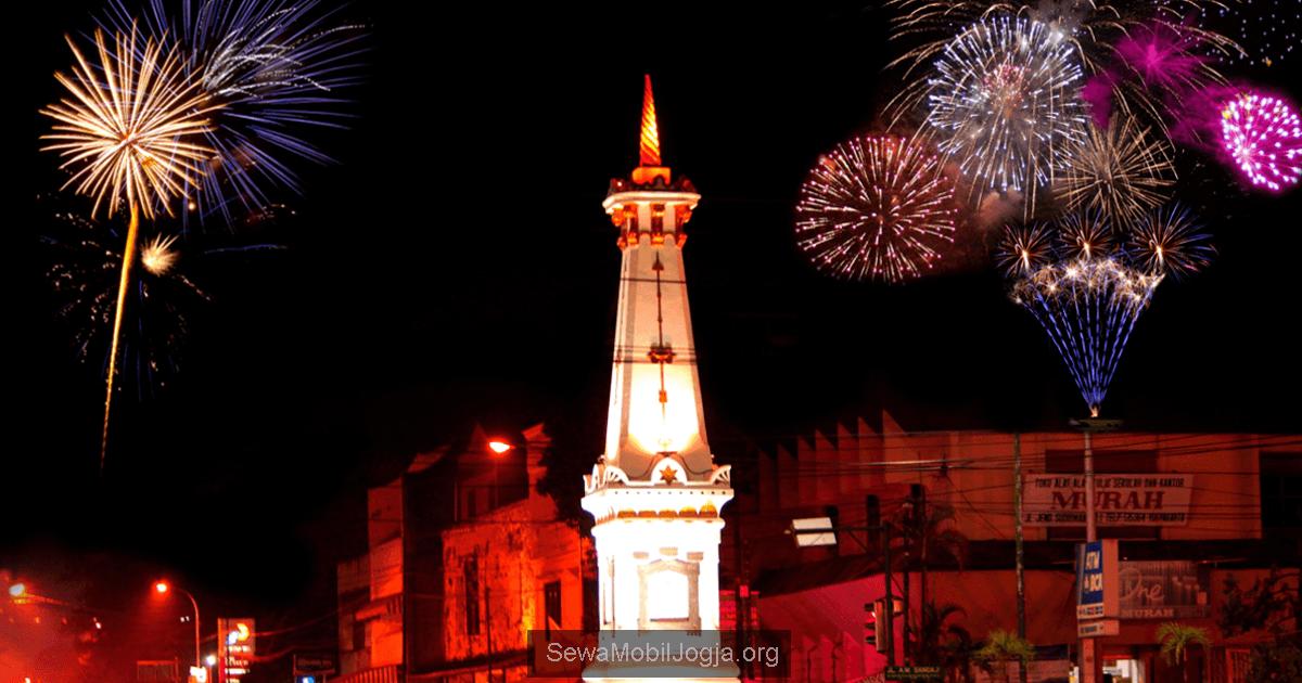 Menikmati Suasana Malam Tahun Baru 2016 Di Yogyakarta