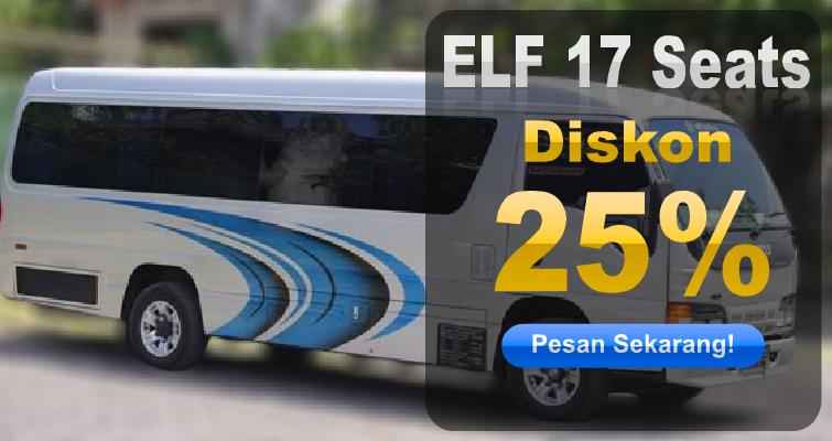 ELF 17 Seats Diskon 25 Persen