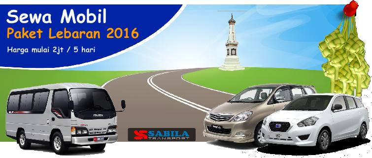 Rental mobil paket lebaran 2016